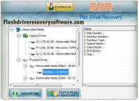 Flash Drive Recovery Software screenshot
