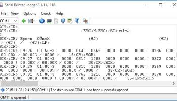 Serial Printer Logger screenshot