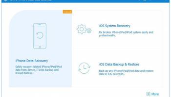 AnyMP4 Free iPhone Data Recovery screenshot
