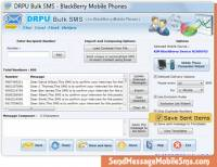 Blackberry Text Messaging Program screenshot