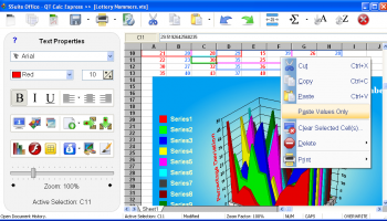 SSuite QT Calc Express screenshot