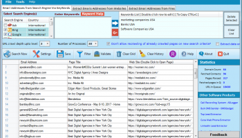 Cute Web Email Extractor Advance screenshot