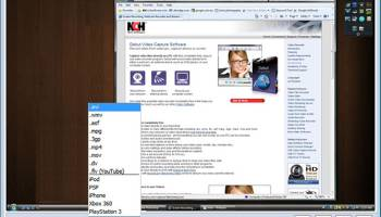 Debut Free Screen Capture Software screenshot