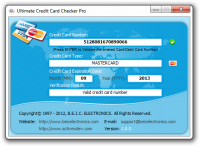 Ultimate Credit Card Checker Pro screenshot