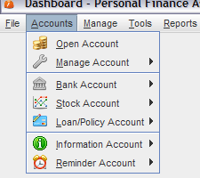 Personal Finance Assistant screenshot