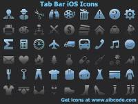 Tab Bar iOS Icons screenshot