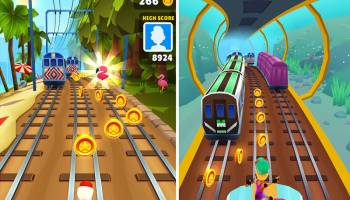 PC Subway Surfers screenshot