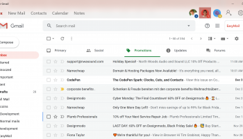 EasyMail for Gmail screenshot