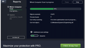 AVG Anti-Virus 2015 screenshot