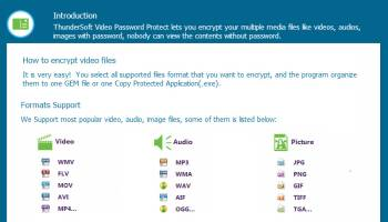 Free Video Password Protect screenshot
