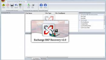 MS Exchange BKF Recovery screenshot