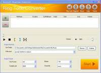 Boilsoft RingTone Converter screenshot