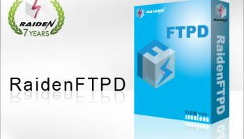 RaidenFTPD FTP Server screenshot