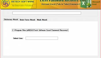 How to Recover Excel File Password screenshot