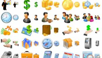 Large Business Icons screenshot