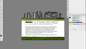 Adobe PhotoShop CS4 screenshot