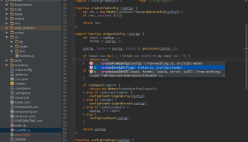 WebStorm screenshot