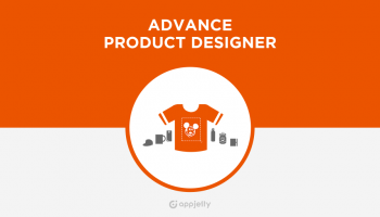 Magento Advance Product Designer screenshot