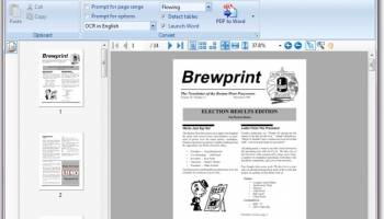 PDF to Word | Solid Converter screenshot