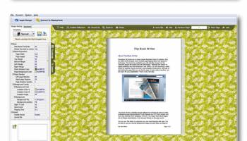 Flash Brochure Writer screenshot