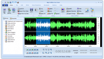 MP3 Editor for Free screenshot
