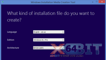Media Creation Tool x64 screenshot