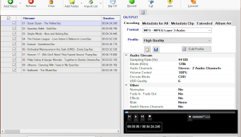 Audio Converter 4dots screenshot