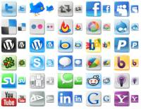 Free Social Media Icons screenshot