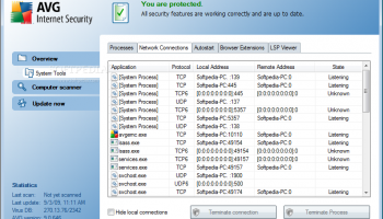 AVG Internet Security 2012 (x64 bit) screenshot