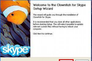 Clownfish for Skype screenshot