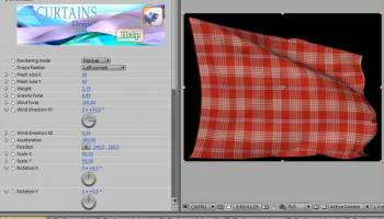 Curtains for AfterEffects Windows screenshot