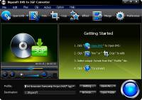 Bigasoft DVD to 3GP Converter screenshot