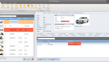 Vehicle Fleet Manager screenshot
