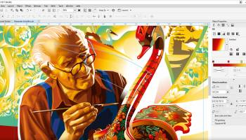 CorelDRAW 2017 screenshot