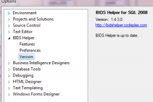 BIDS Helper screenshot