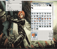 MyPaint 64-bit screenshot