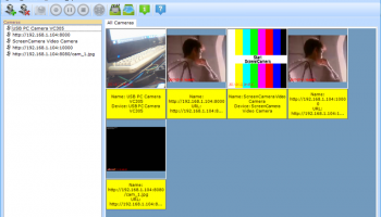 Multiple Camera Monitor screenshot