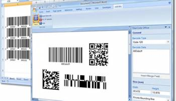 Barcode Word/Excel Add-In TBarCode Office screenshot