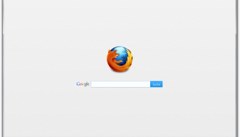 Firefox 20 screenshot