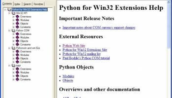 PyWin32 screenshot