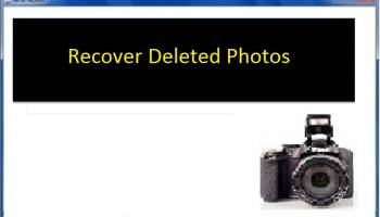 Recover Deleted Pictures screenshot