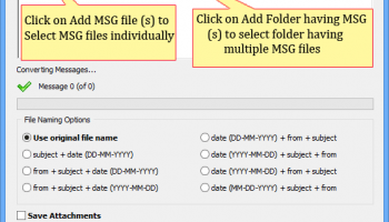 Software4Help MSG to PDF Converter screenshot