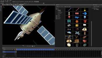 Corel MotionStudio 3D screenshot
