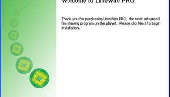 LimeWire screenshot