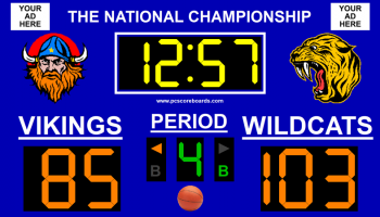Basketball Scoreboard Standard v3 screenshot