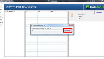 SameTools Conversor OST para PST 7.0 screenshot