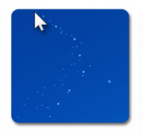 Cursor Snowflakes screenshot