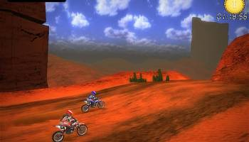 Desert Moto Racing screenshot