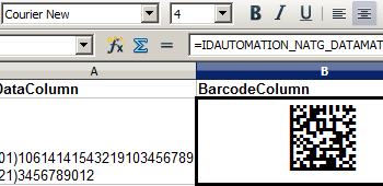 2D Barcode Generator for OpenOffice screenshot