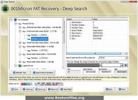 FAT Partition File Restore Software screenshot